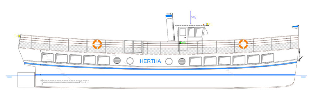 Entwurf der Hertha